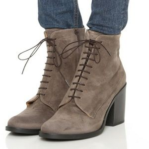 Anthropologie Coclico Vash Suede Ankle Boot